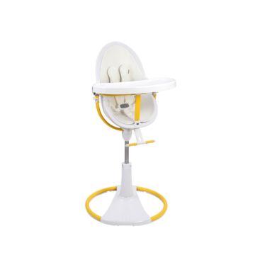 Стульчик Bloom Fresco Chrome Giro White Yellow
