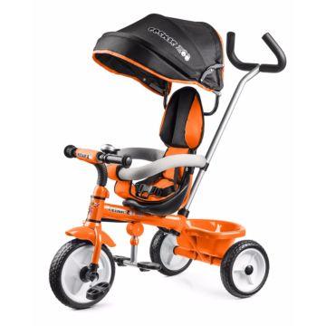 """Трехколесный велосипед Small Rider Cosmic Zoo Trike с колесами 10"""" и 8"""" (оранжевый)"""