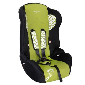 Автокресло Baby Care BC-513 Жирафик Люкс (зеленый)