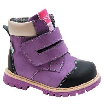 Ботинки ортопедические Twiki утепленные (фиолетовые, 21-25)