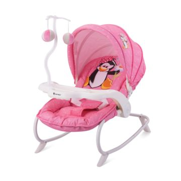 Шезлонг Bertoni Lorelli Dream Time (розовый/pink penguin 1620)