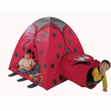 Детская палатка Calida с шарами Божья Коровка