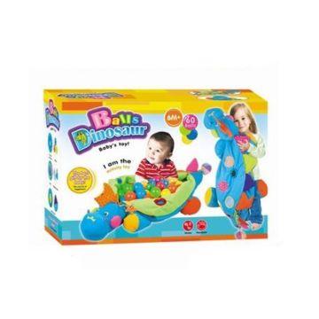 Развивающая игрушка Tinbo Toys Малыш и динозаврик + 60 шаров