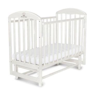 Кроватка детская Альма-Няня Венеция (поперечный маятник) (белый)