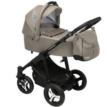 Коляска 2 в 1 Baby Design Lupo Comfort New (бежевая)