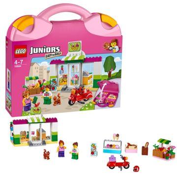 """Конструктор Lego Juniors 10684 Чемоданчик """"Супермаркет"""""""