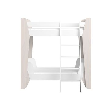 Кровать двухъярусная Ellipse Line M (белый)
