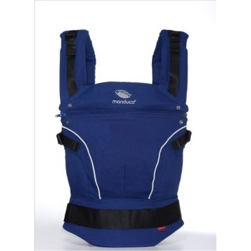 Слинг-рюкзак Manduca Pure Cotton (Синий)