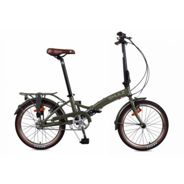 Велосипед складной Shulz Goa V-brake (2017) хаки