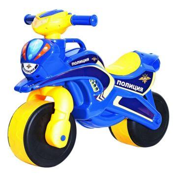Беговел-мотоцикл RT Motobike Police (синий)