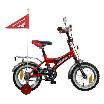 """Детский велосипед NovaTrack Формула 12"""" (2016) красный ДИСКОНТ"""