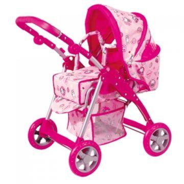 Коляска для куклы Melobo 9388S (Розовый)