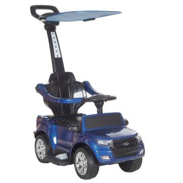 Электроминикар Ford Ranger с ручкой Покраска (синий)