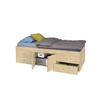 Кровать детская Polini Simple 3100 (натуральная)