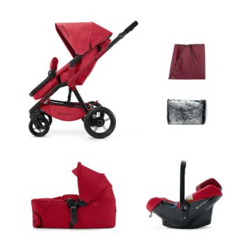 Коляска 3 в 1 Concord Wanderer Mobility Set (Ruby Red 2015)