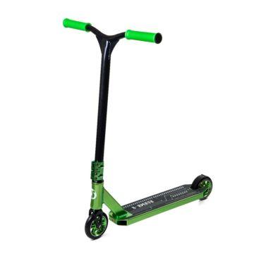 Трюковый самокат X-Sports 4 (зеленый)