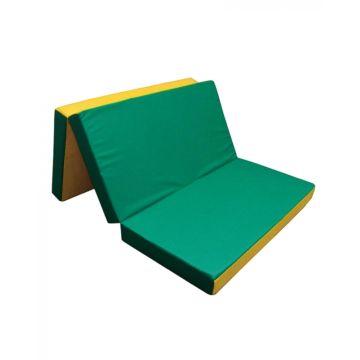 Гимнастический мат Kampfer №6 150х100см (зеленый)