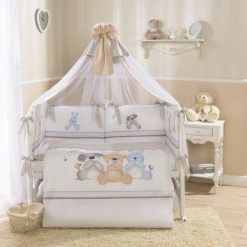 Комплект постельного белья Perina Венеция 105х170см (7 предметов, сатин) (три друга)