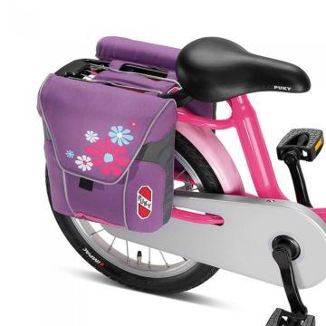 Двойная сумка на багажник Puky DT3 (lilac/rose)