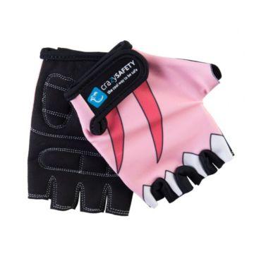 Велоперчатки Crazy Safety (Pink Shark)