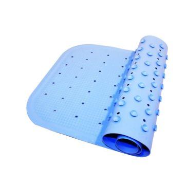 Коврик для купания Roxy Kids с отверстиями 34.5х76 см (синий)