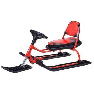 Снегокат Барс Comfort Soft 104 (красный)