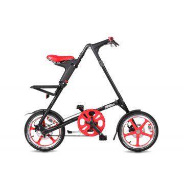 Велосипед складной Strida LT (2017) черно-красный