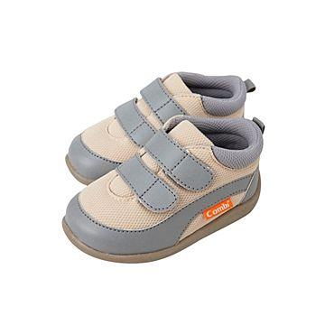 Ботинки Combi Baby Sneakers (кремово-серые)