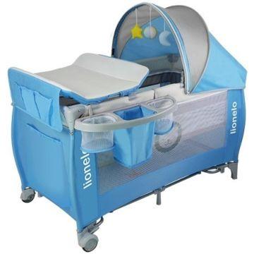 Манеж-кровать Lionelo Sven Plus Blue
