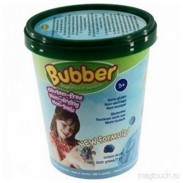 Кинетический песок Bubber Bucket-Blue