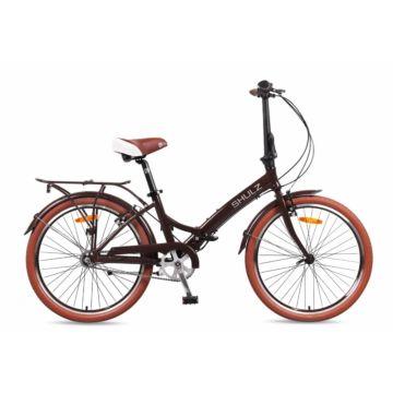 Велосипед складной Shulz Krabi V-brake (2016) коричневый