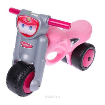Мотоцикл-каталка Coloma Мини-Мото (Pink)