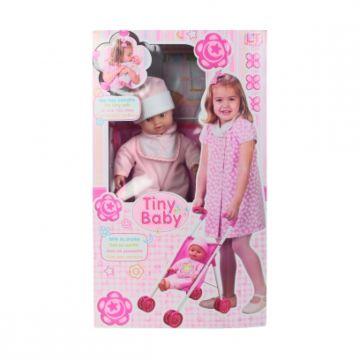 Кукла Loko Tiny Baby с коляской