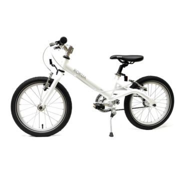 "Детский велосипед Kokua LiketoBike V-Brakes 16"" (white)"