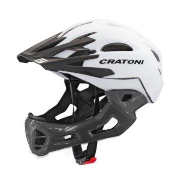 Шлем Cratoni C-Maniac L-XL (white-lucentblack)
