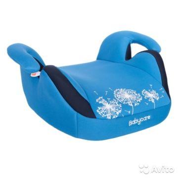 Бустер Baby Care Баги BC-311 Люкс (синий)