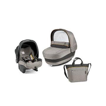 Комплект для коляски Peg-Perego Navetta Pop Up 1 (серый-бежевый)