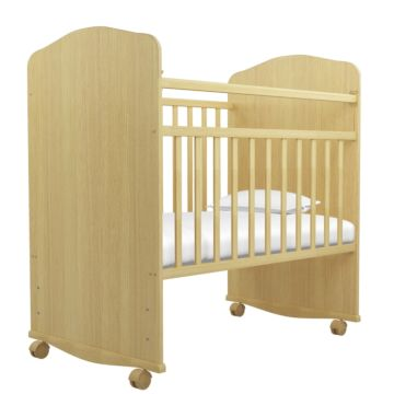 Кроватка-качалка Агат Золушка-8 (Светлый)