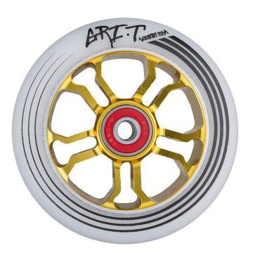 Колесо для самоката Grit Ultra Light 110мм ABEC 9 (золотое)