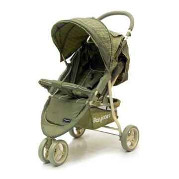 Коляска прогулочная Baby Care Jogger Lite (Olive Checker)
