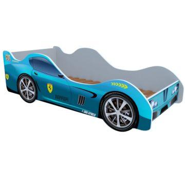 Кровать-машина Кроватка5 Машинки (Феррари голубая)