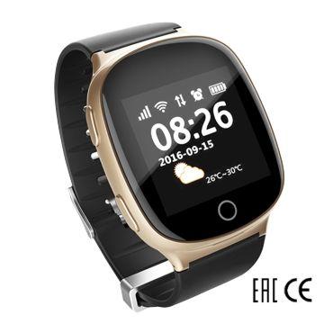 Часы с GPS-трекером SmartBabyWatch D100S (золотые)
