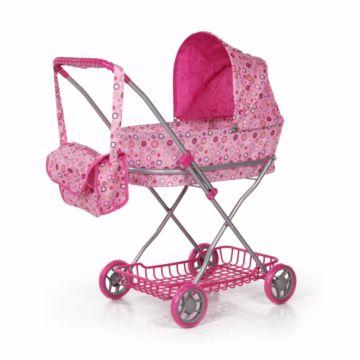 Коляска для куклы Melobo 9325 (Розовый)