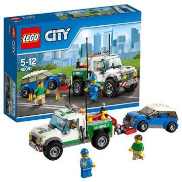 Конструктор Lego City 60081 Город Буксировщик автомобилей