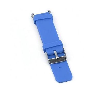 Ремешок силиконовый SmartBabyWatch Q80 (голубой)