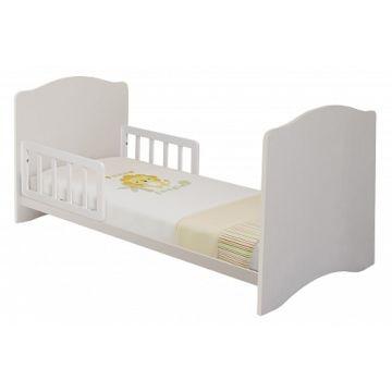 Барьер безопасности Polini для кроватки Simple/Basic (140х70см) (натуральный)