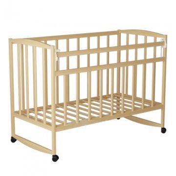 Кроватка детская ВДК Magico-Mini 2 (качалка-колесо) (береза)