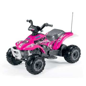 Электроквадроцикл Peg Perego Corral Bearcat (розовый)