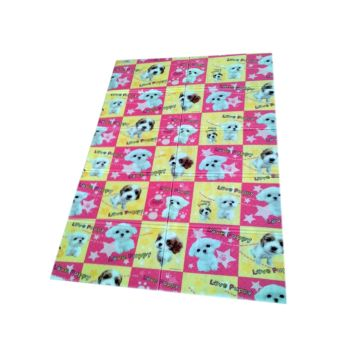 Складной коврик Yurim 200х140х0.8см (Собачки)
