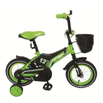 """Детский велосипед Nameless Cross 14"""" (зеленый)"""